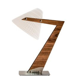 Aura wooden 2D/3D illusion lamp