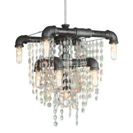 Tribeca 9-bulb Compact Chandelier Pendant