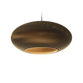 Disc24 Scraplight Natural Pendant Light