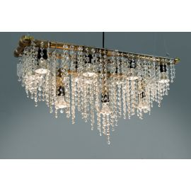 Outdoor Linear Banqueting Chandelier