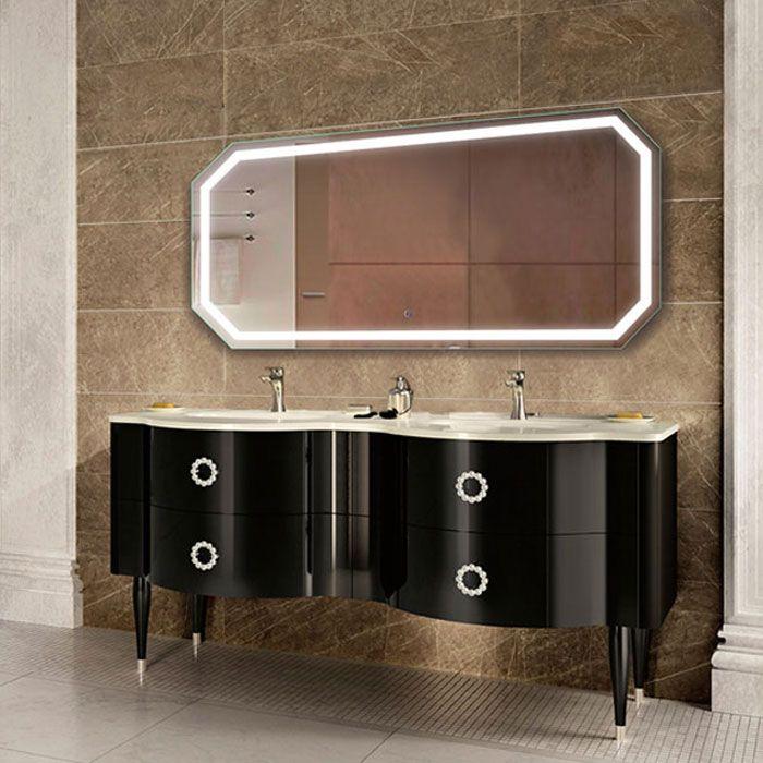Krugg Tudor Illuminated Bathroom Mirror