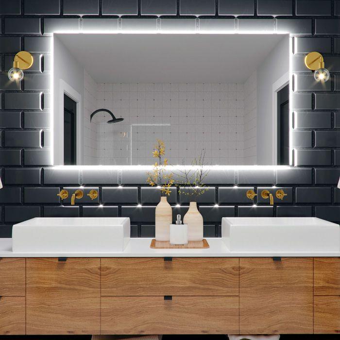 Coral Backlit Led Bathroom Mirror