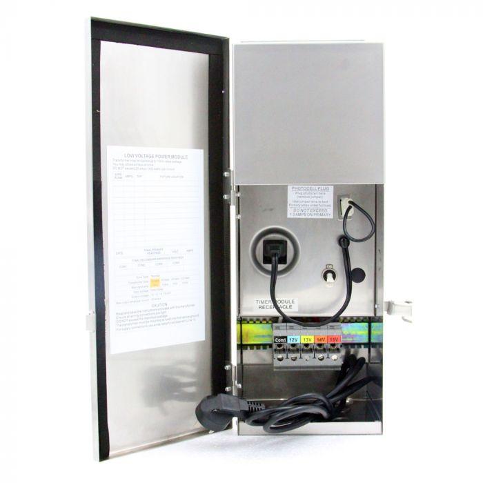 Low Voltage Transformer 300w Clamp Connect 12v 15v Led Landscape Lighting Toroid Core Dlaguna