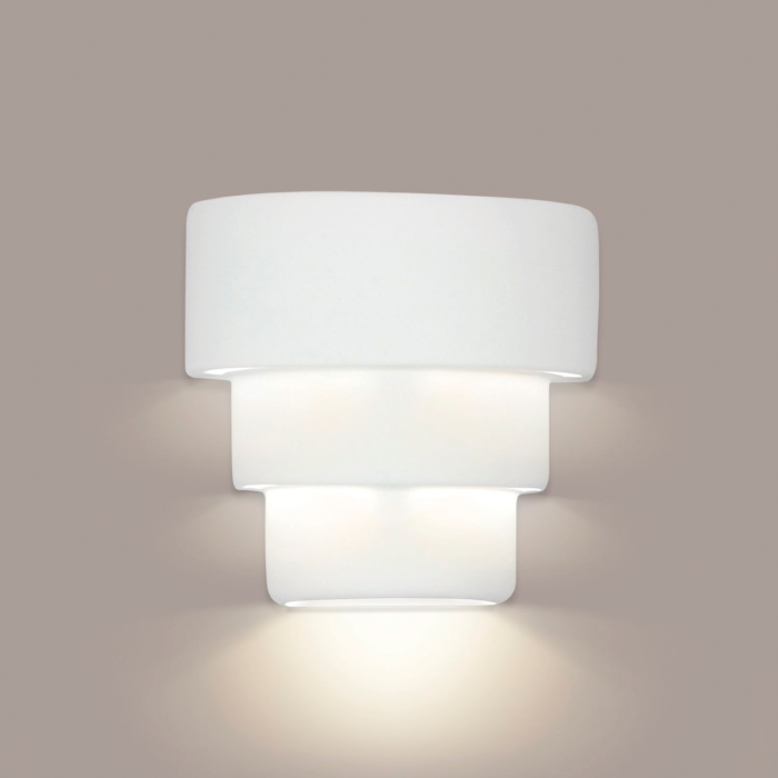 San Jose Downlight Wall Sconce By A19 Handcrafted Ceramic Lighting Fixtures