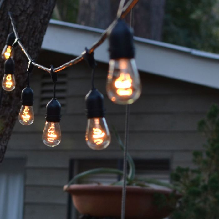 Outdoor Hanging Italian String Lights