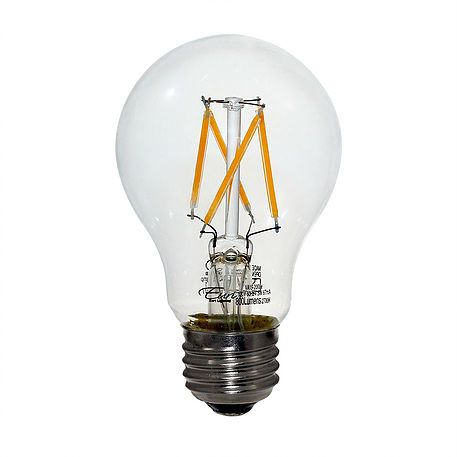Euri Lighting 60w Equivalent Warm White 2700k A19 Dimmable Clear Led Light Bulb Dlaguna
