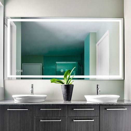 Led Bathroom Mirrors And Backlit, 40 X 60 Vanity Mirror