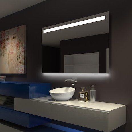 Illuminated LED Bathroom Mirrors | DLaguna.com
